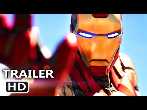 AVENGERS in FORTNITE Official Trailer (2020) Video Game HD