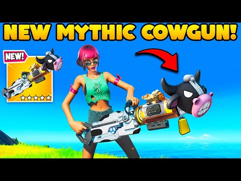 EPIC *ACCIDENTALLY LEAKED* THIS NEW GUN!! – Fortnite Funny Moments! 1301