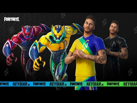 The Fortnite Neymar Jr Outfit Cinematic Reveal Trailer